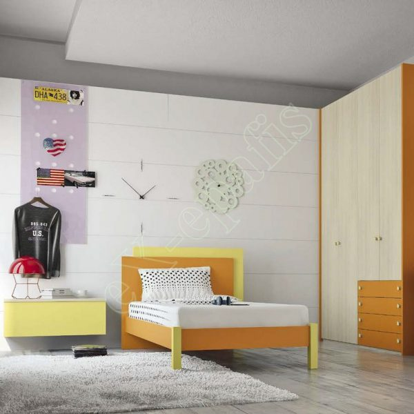 Kids Bedroom Colombini Volo C07