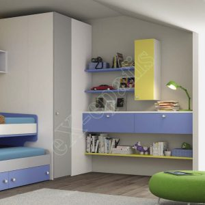 Kids Bedroom Colombini Volo C12