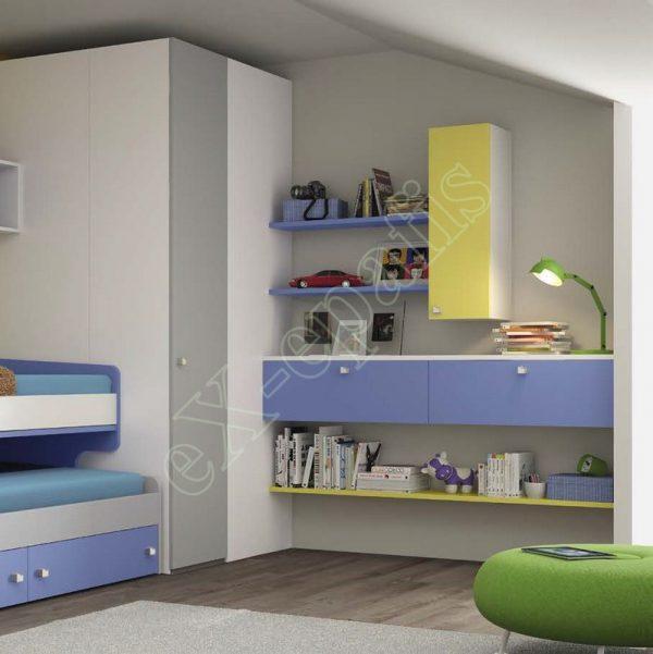 Kids Bedroom Colombini Volo C12
