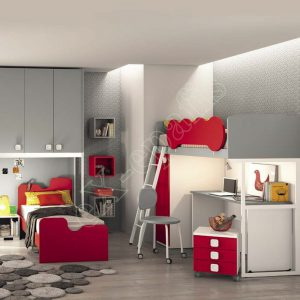 Kids Bedroom Colombini Volo C15