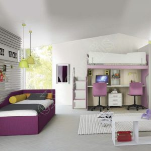 Kids Bedroom Colombini Volo C17