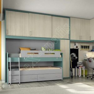Kids Bedroom Colombini Volo C26