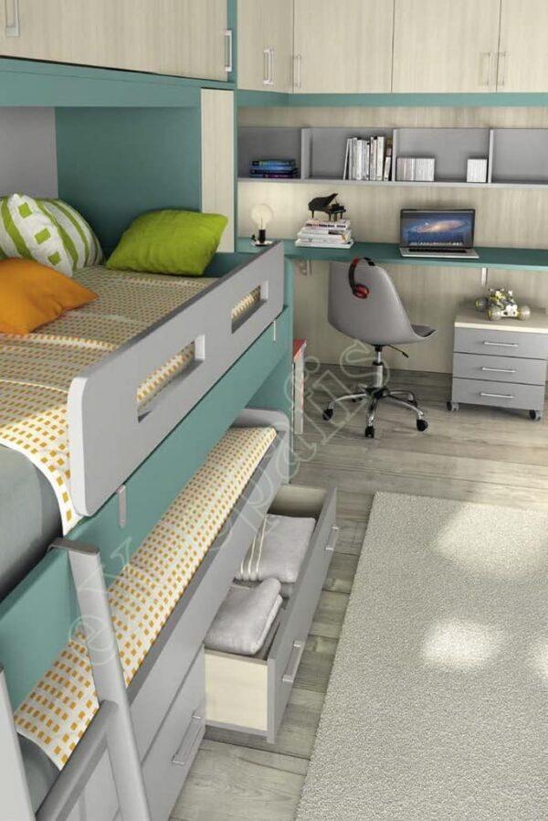 Kids Bedroom Colombini Volo C26