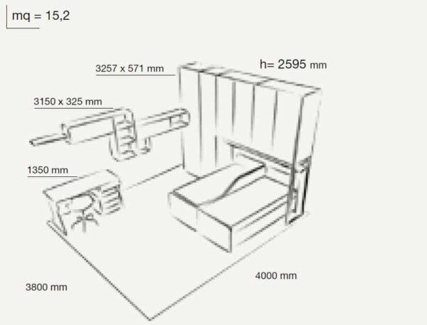 Kids Bedroom Colombini Volo C27