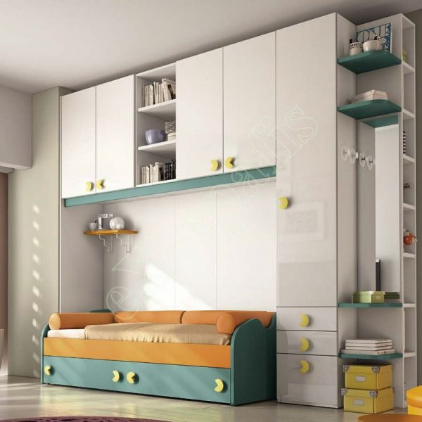 Kids Bedroom Colombini Volo C28