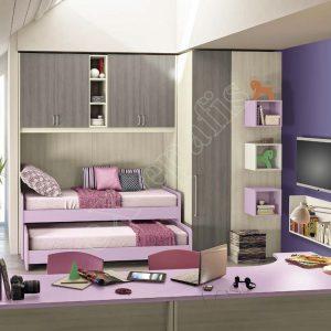 Kids Bedroom Colombini Volo C29