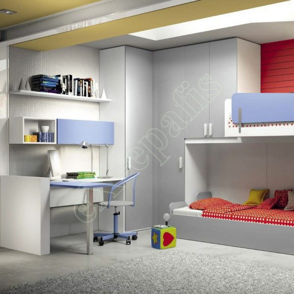 Kids Bedroom Colombini Volo C32