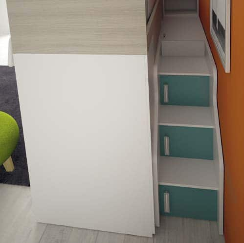 Kids Bedroom Colombini Volo C34