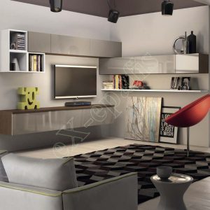 Wall Unit Set Colombini Volo S01