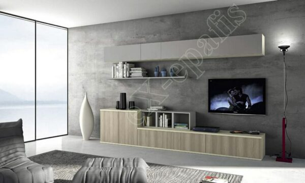 Wall Unit Set Colombini Volo S05