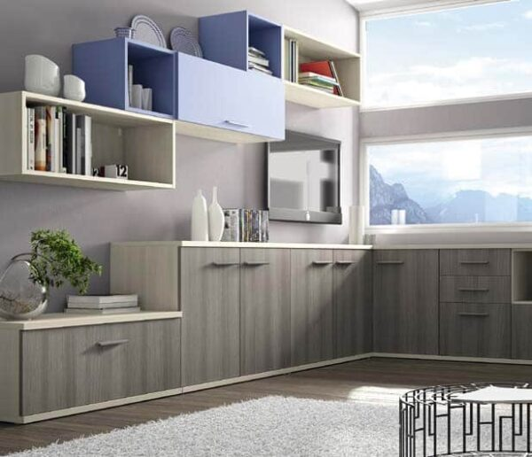 Wall Unit Set Colombini Volo S09