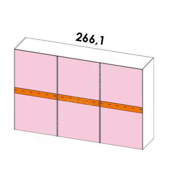 Ντουλάπα Συρόμενη H214cm Target Colombini