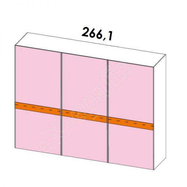 Ντουλάπα Συρόμενη H249cm Target Colombini