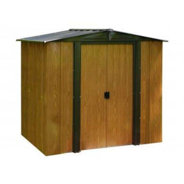 Woodlake Storage Shed Arrow