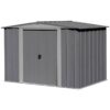 Apex Steel Storage Shed 8fx6f