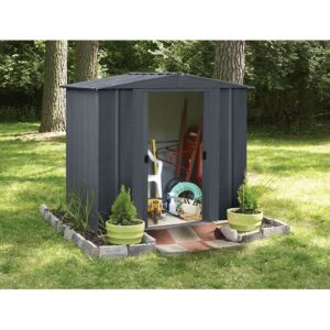 Apex steel storage shed 6x5