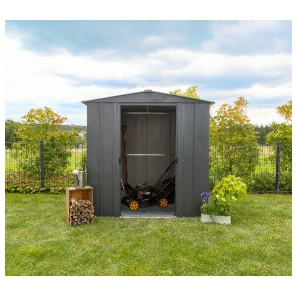 Apex steel storage shed 6x5