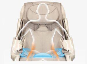 Massage chair irest A86-1 Robostic 3D Zero Gravity Air Pressure Massage