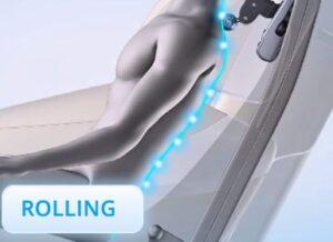 Massage chair irest A86-1 Robostic 3D Zero Gravity Rolling