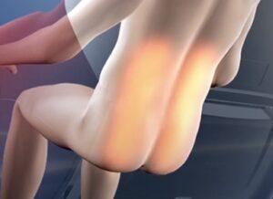 Massage chair irest A86-1 Robostic 3D Zero Gravity far infrared carbon fiber heating