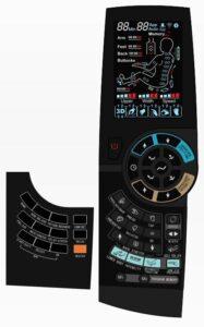 Massage chair irest A86-1 Robostic 3D Zero Gravity remote control