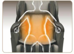 massage chair A380 iRest arm