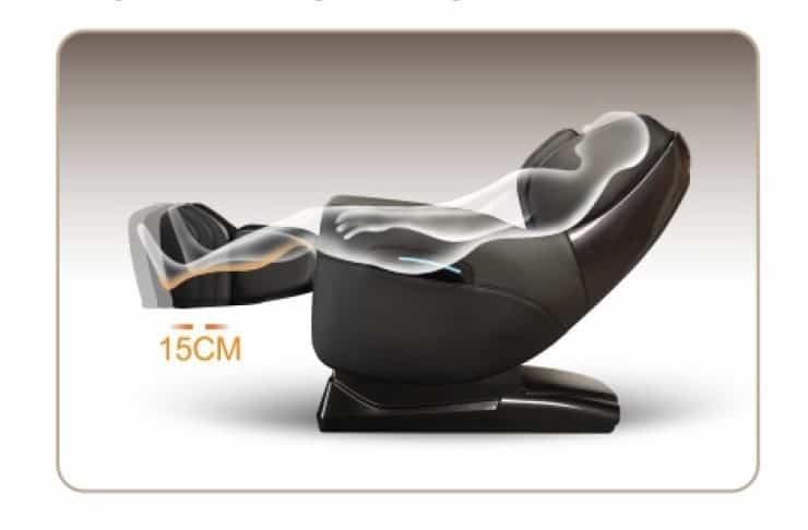 massage chair A380 iRest calf rest