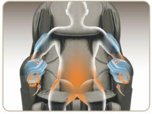 massage chair iRest A380 carbon