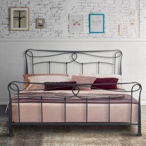 Hand Made Metal Bed Helena 101