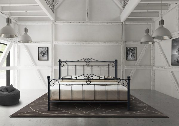 Hand Made Metal Bed Kleio 112