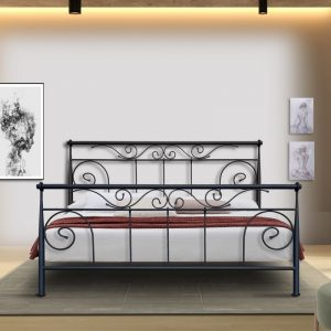 Hand Made Metal Bed Polymnia 115