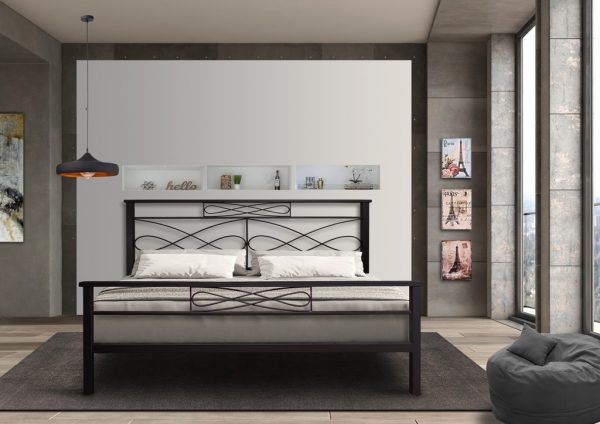 Hand Made Metal Bed Terphsichori 117