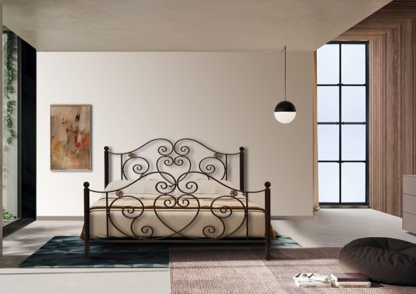 Hand Made Metal Bed Meleti 126