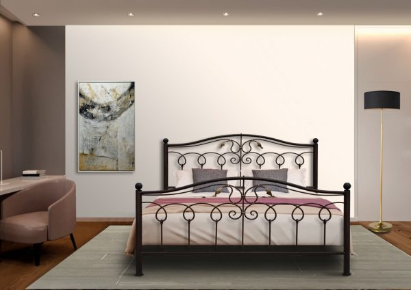 Hand Made Metal Bed Esther 127