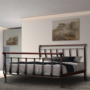 Hand Made Metal Bed Lydia 128