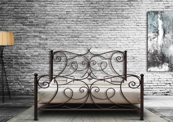 Hand Made Metal Bed Athina 129