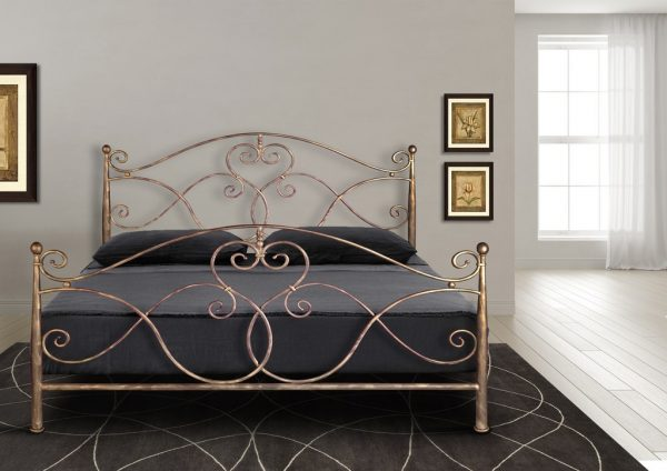 Hand Made Metal Bed Ariadni 130