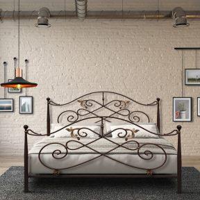 Hand Made Metal Bed Aphroditi 131