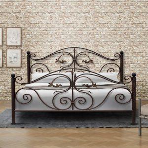 Hand Made Metal Bed Myrto 132