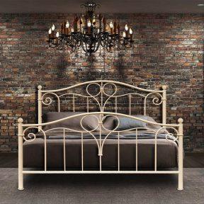 Hand Made Metal Bed Roxani 134