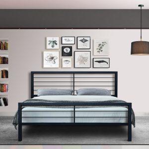 Hand Made Metal Bed Odysseus 140