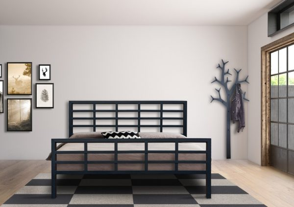 Hand Made Metal Bed Orfeas 141