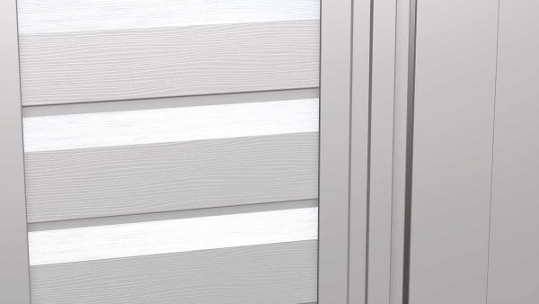 Arrow Select Steel Storage Shed Flute Grey 10x8