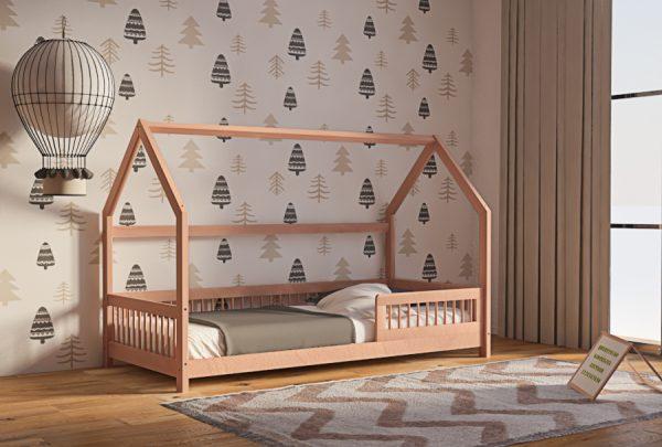 Καναπές Κρεβάτι Genius Montessori Οξιά Φυσικό