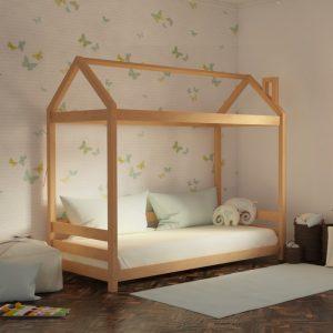 Κρεβάτι Luna Montessori Φυσικό