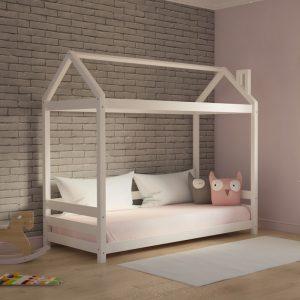 Κρεβάτι Luna Montessori Λευκό