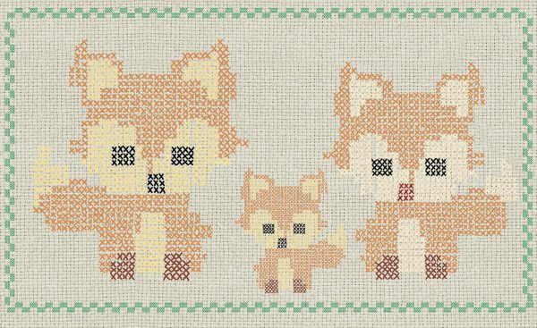 cross stitch fox 768 suite collection (1)