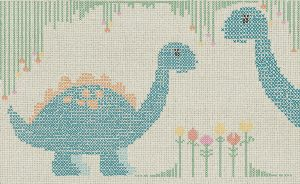 wallpaper Cross stitch dino 765 suite collection (1)