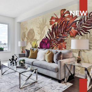 wallpaper autumn flowers 754 suite collection (1)