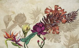 wallpaper autumn flowers 754 suite collection (2)